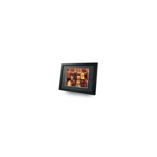 Imagin 15 Digital Photo Frame Media Player Black Wood