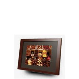 Imagin 15 Digital Photo Frame Media Player Cherry Wood Reviews