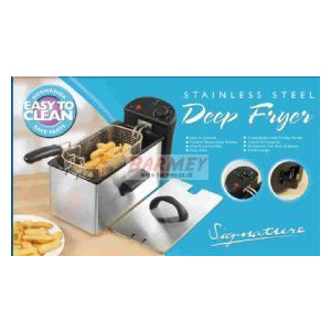 Photo of Signature S077 Stainless Steel Deep Fryer Kitchen Appliance