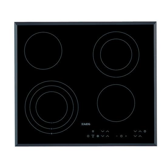 AEG HK634030FB Ceramic Hob - Black