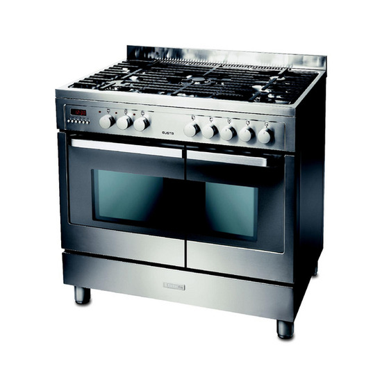 Electrolux EKM90460X Dual Fuel Range Cooker - Stainless Steel