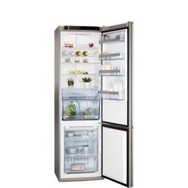 AEG S83600CMM0 Fridge Freezer - Stainless Steel