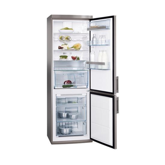 AEG S73400CTS1 Fridge Freezer - Silver