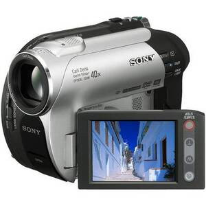 Photo of Sony DCR-DVD106 Camcorder