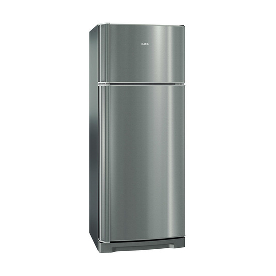 AEG Combi-Top S74100DTX0 Fridge Freezer - Silver & Stainless Steel