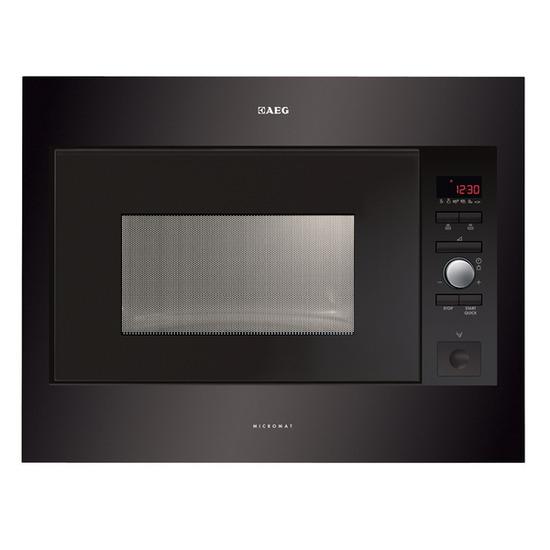 AEG MC2664E-B Built-in Solo Microwave - Black