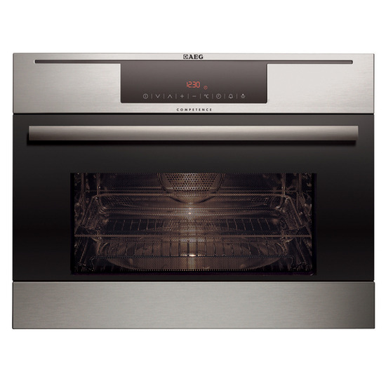 AEG MCD3885E-M Built-in Microwave with Grill - Stainless Steel