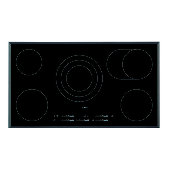 AEG HK955070FB Ceramic Hob - Black