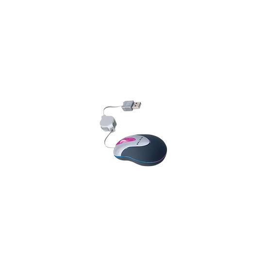 Belkin Optical Glow Mouse - Mouse - optical - wired - PS/2, USB