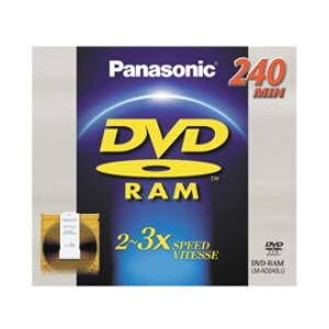 Photo of Panasonic LMAD240-3PACK DVD RAM