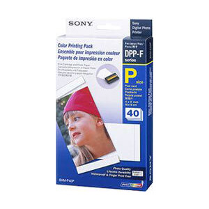 Photo of Sony SVMF40P Photo Paper