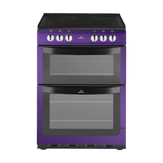 New World 601ETC Electric Cooker - Metallic Purple