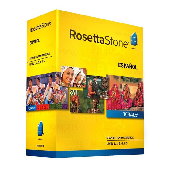 Rosetta Stone Version 4 TOTALe Spanish (Latin America) Level 1- 5