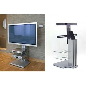 Photo of Off The Wall Origin S2 Silver TV Stands and Mount