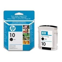 HP 10 Black Original Ink Cartridge (C4844A) Reviews