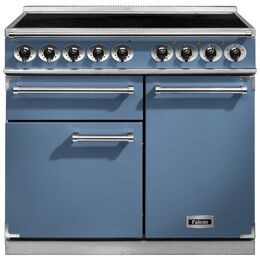Falcon 1000 DELUXE 100120 F1000DXEICA/N Cooker in China Blue