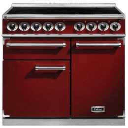 Falcon 1000 DELUXE 100140 F1000DXEIRD/N Cooker in Red
