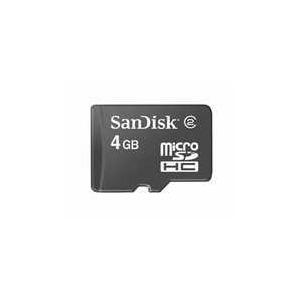 Photo of SANDISK 4GB MICRO SDHC Memory Card