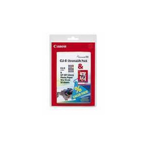 Photo of CANON CLI8 CHRO PACK Ink Cartridge