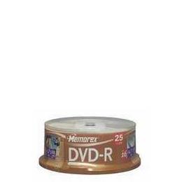 MEMOREX DVD-R25PK SPINDLE Reviews