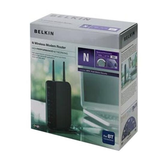 Belkin N Wireless Modem Router N300