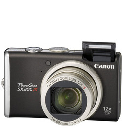 Canon PowerShot SX200 IS Reviews