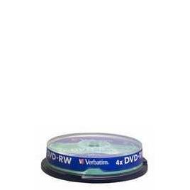 Verbatim DVD-RW10P K Spin Reviews