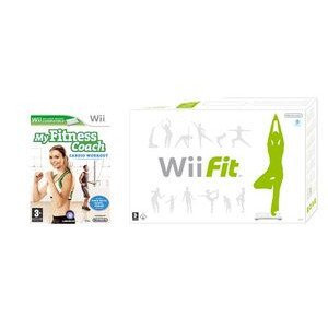 Photo of Wii Fit and My Fitness Coach: Cardio Workout Video Game