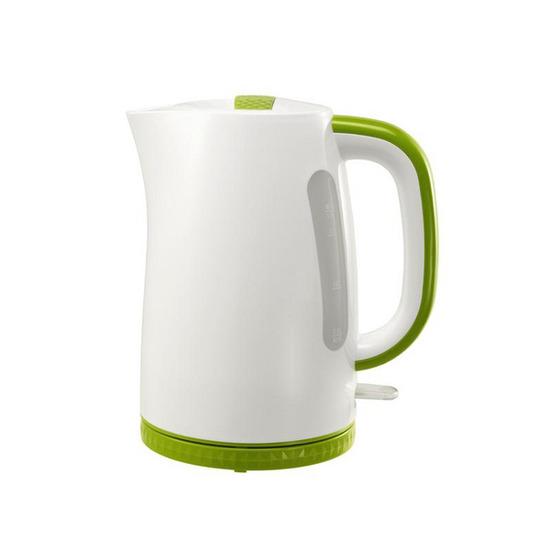 Logik L17PKG12 Jug Kettle - White & Green