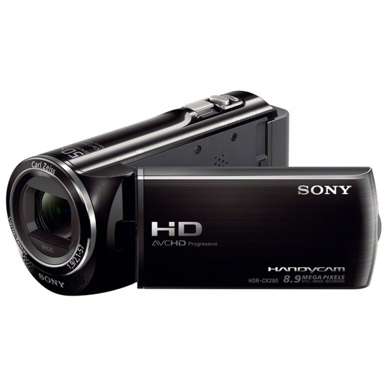 SONY HDR-CX280EB Full HD Camcorder with Performance SDHC Memory Card - 16 GB