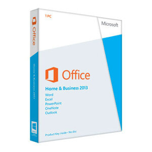 Photo of Microsoft Office Home and Business 2013 Software
