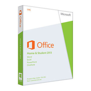 Photo of Microsoft Office Home & Student 2013 Software