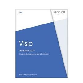 Microsoft Visio Standard 2013 Licence Card (1 PC) Reviews