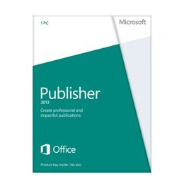 Microsoft Publisher 2013 Licence Card (1 PC) Reviews