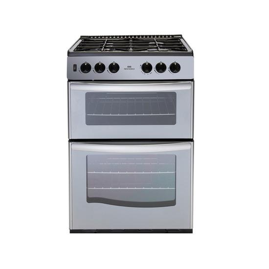 NEW WLD G55TT Gas Cooker - Silver