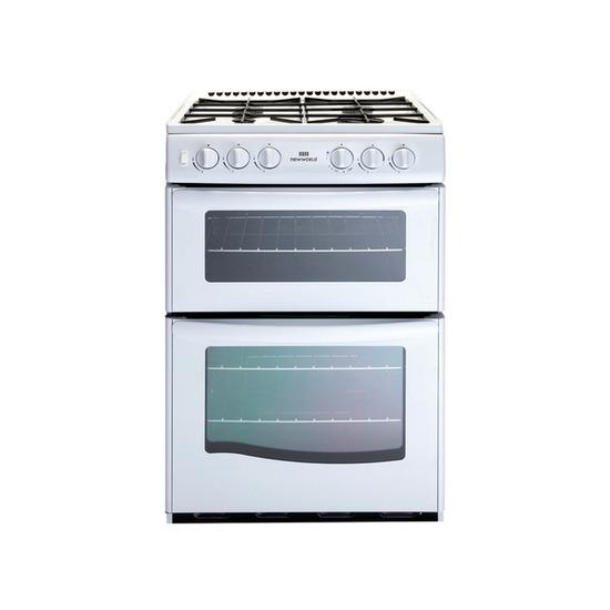 NEW WORLD G55TT Gas Cooker - White