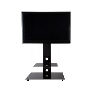 Photo of AVF Lesina Piano Black Cantilever TV Stand TV Stands and Mount