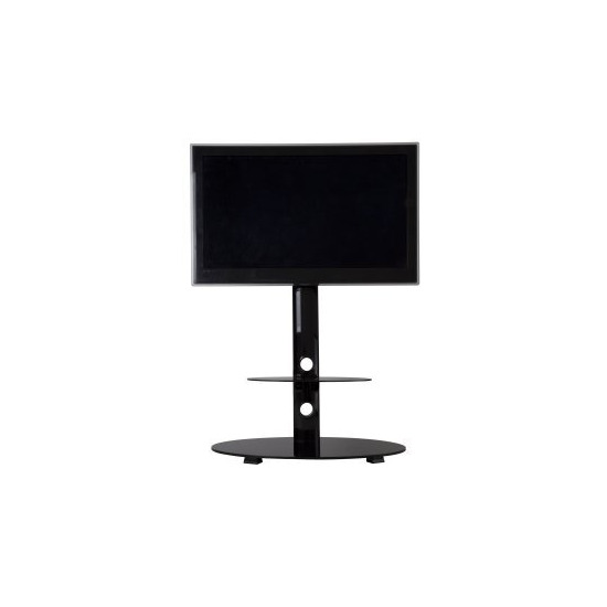 Reflections FSL800LUB Lugano TV Stand with Bracket - Black