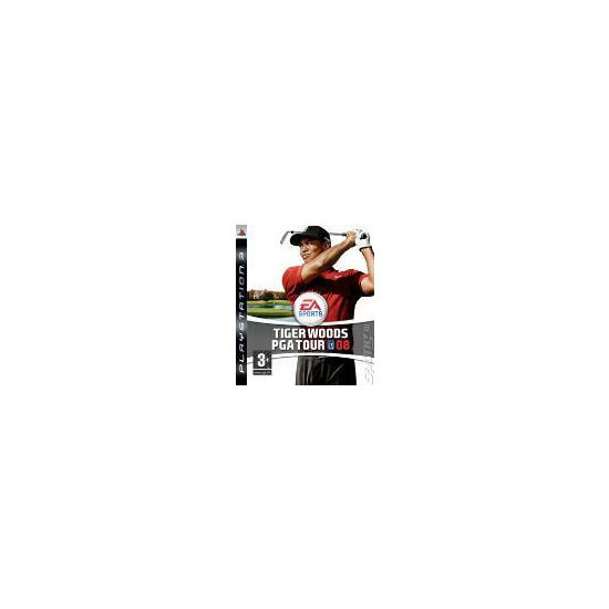 Tiger Woods PGA Tour 2008 PS3
