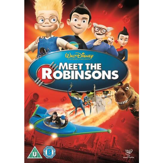 Meet The Robinsons (2007) DVD