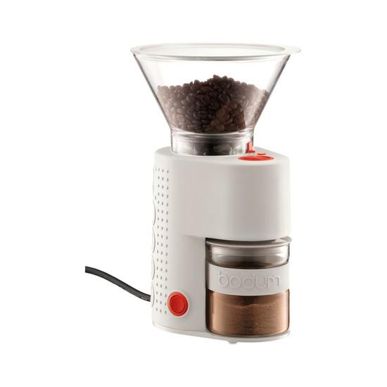 Bodum Bistro 10903-913UK Electric Coffee Grinder - White