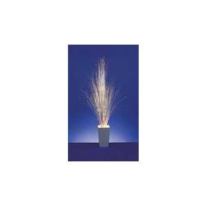 Photo of Premier FT052178 Fibre Optic White & Silver Rushes With White Ceramic Pot Home Miscellaneou