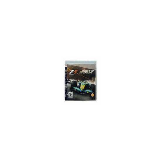 F1 2006 (Formula 1): Championship Edition (PS3)