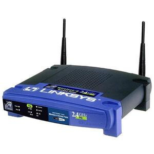 Photo of Linksys WAP54G Router