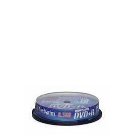 VERBATIM DVD+R10PK SP DL Reviews