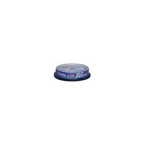 VERBATIM DVD+R10PK SP DL