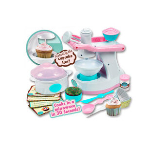 Photo of Girl Gourmet Cup Cake Maker Toy