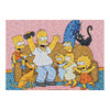 Photo of The Simpsons Family Photomosaic Puzzle Toy