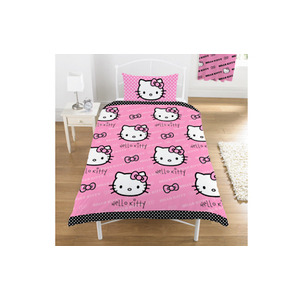 Photo of Hello Kitty Polka Dot Duvet Toy