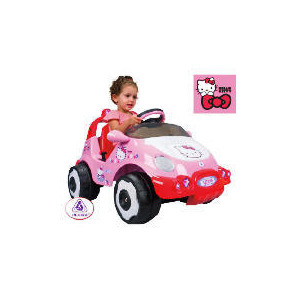 Photo of Hello Kitty 6V Racing Car Toy
